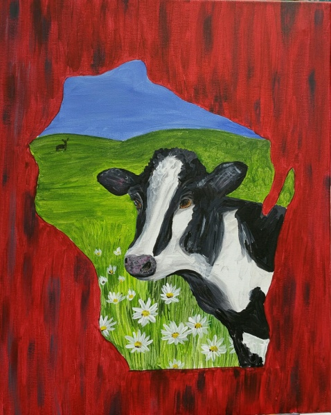 Outline - Wisconsin Cow