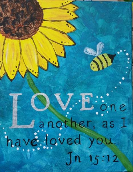 Sunflower Bible Verse