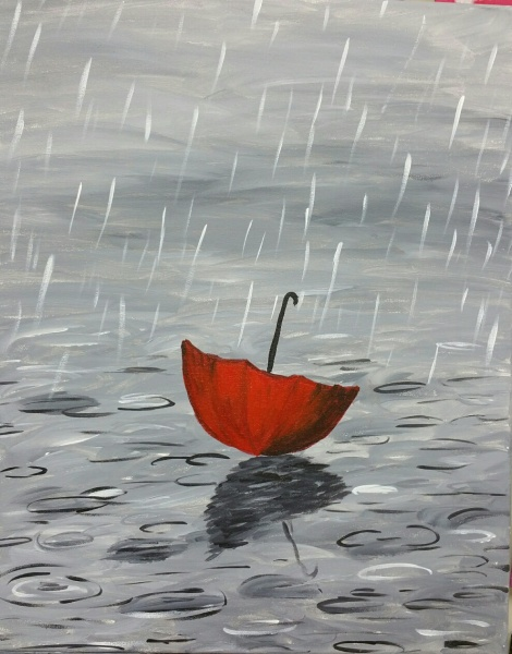 Rainy Umbrella
