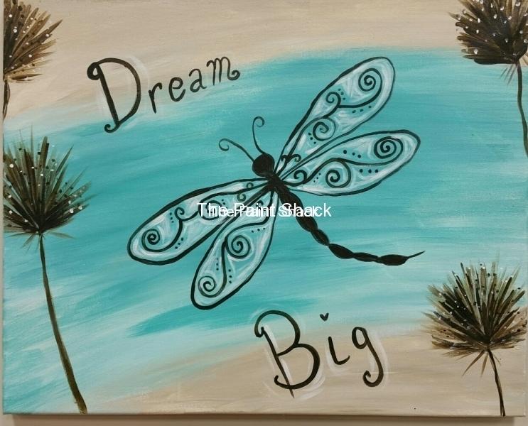 Dream Big Dragon Fly