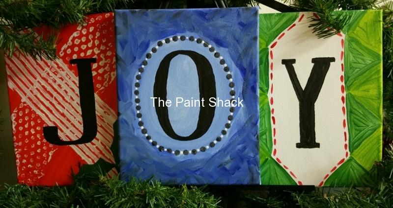 Winter - Joy - 3 canvases
