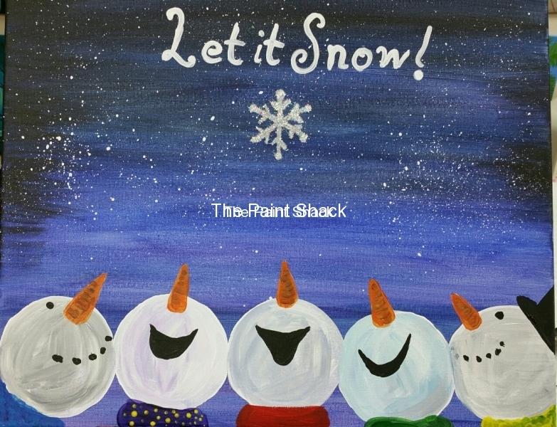 Winter - Snowman Heads