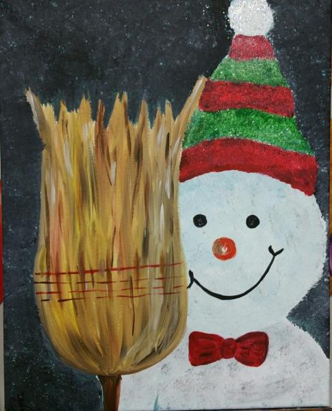 Winter - the Broom