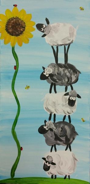 Stacked Sheep