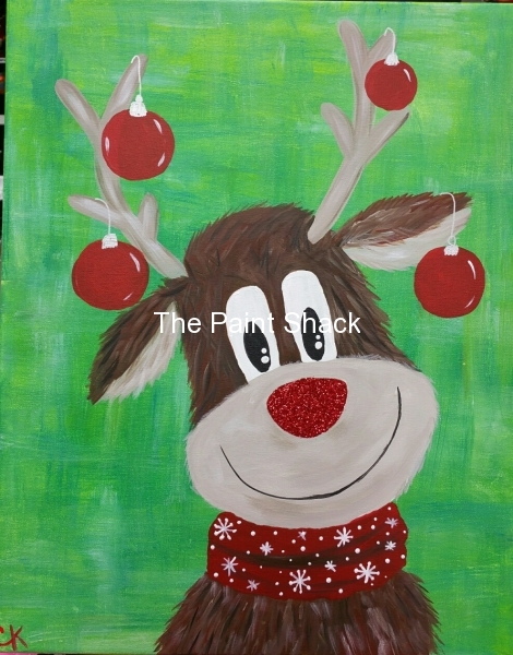Winter - Rudie the Reindeer