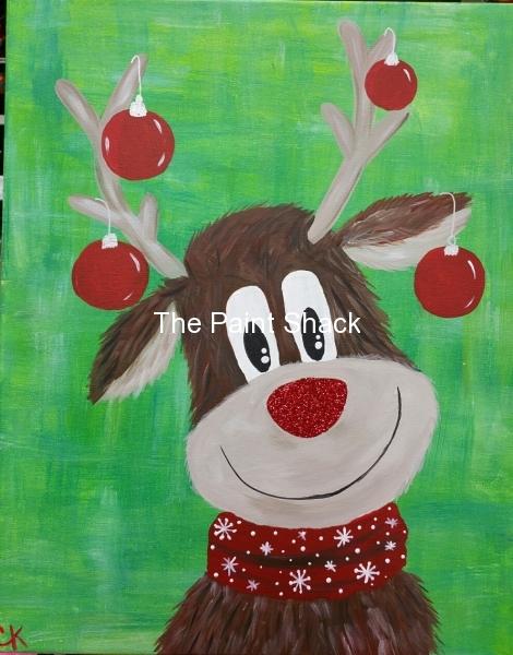 Winter - Rudie the Reindeer