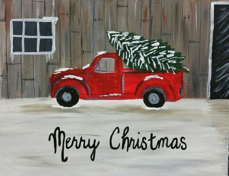 Winter - Christmas Truck