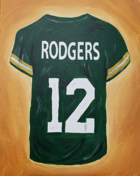 Green and Gold Jersey
