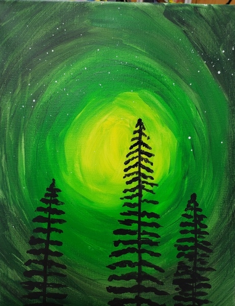 Winter Evergreen Pine