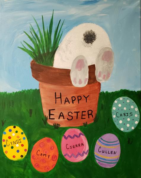 Easter Bunny Butt