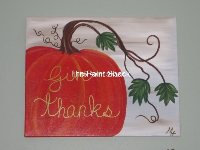 Fall -Give Thanks