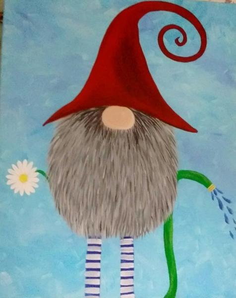 Gnome springtime