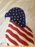 Outline - Patriotic Eagle 1
