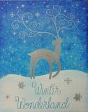 Winter Magical Reindeer