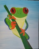 Phil the Tree frog