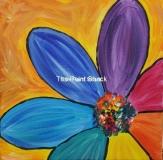 Colorful Flower - rainbow