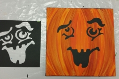 Fall Pumpkin - Many different faces