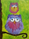 Fluffly Owls Stacked