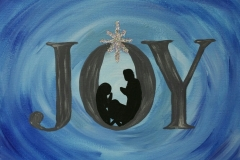 Winter - Joy with Nativity in Middle