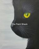 Fall - Black Cat