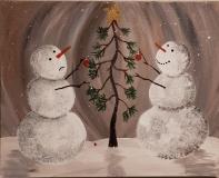 Winter Reach for a broken ornament
