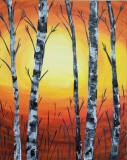 Lovely Birch (orange/yellow)