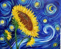 Sunflower Van Gogh