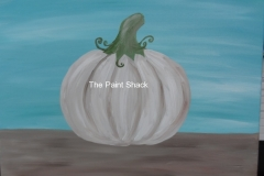 Fall -White Pumpkin