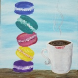 Macaroons and Coffee