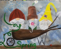 Gnomes at Springtime