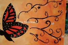 Butterfly Monarch Trails