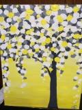 Tree Circles Yellow