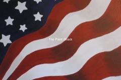 Flag God Bless America