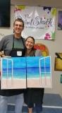 Beachfront View - Couple Paint