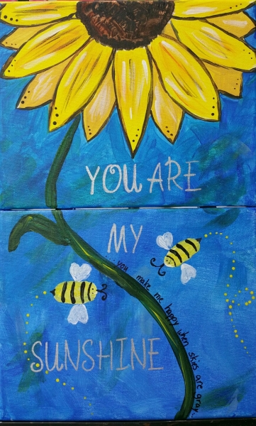 You Are My Sunshine (multiple canvas)