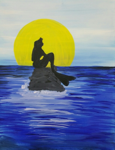 Little Mermaid Silhouette