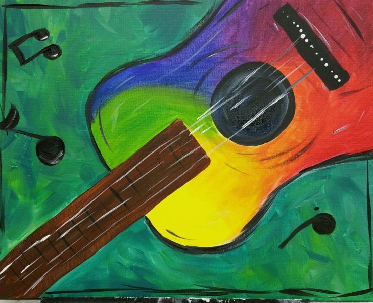Rainbow Guitar