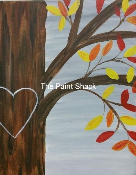 Fall -Love Tree