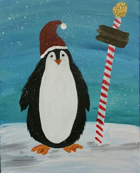 Winter - Penguin North Pole