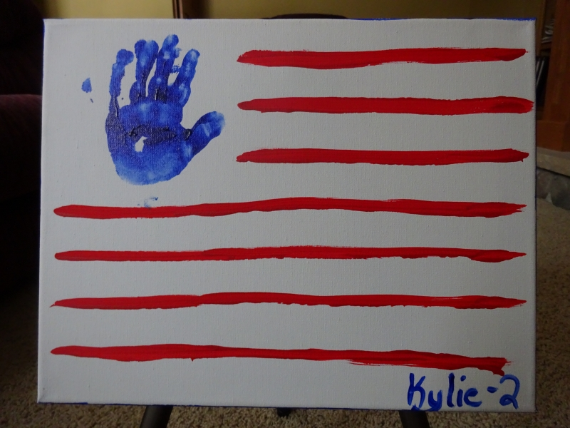 Hand and Foot - Flag