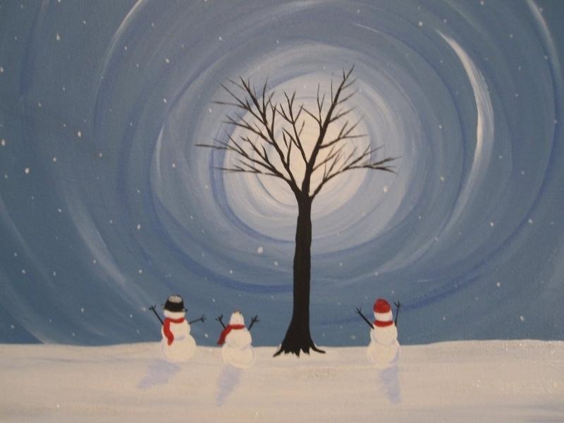 Winter - It's Snowing