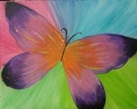 Butterfly Splatter fun