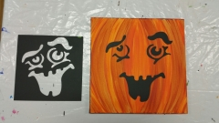 Fall Funny Pumpkins - lots of different faces