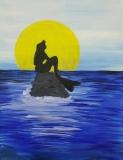 Little Mermaid Silhouette