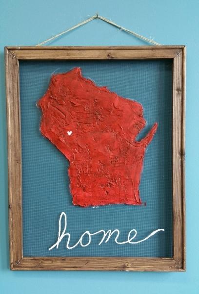 Screen - Wisconsin Home 16x20