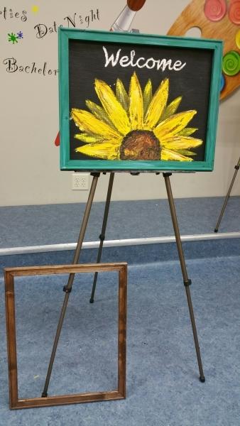 Screen - Welcome Sunflower