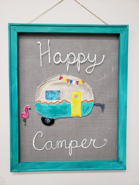 Screen - Happy Camper