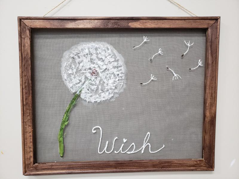 Screen - Dandelion Wish