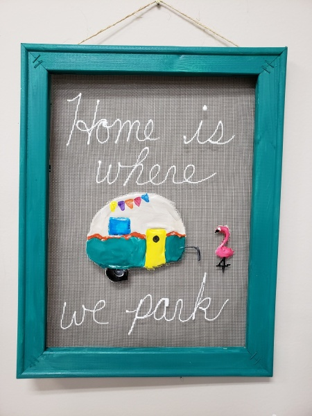 Screen - Home is where we park it