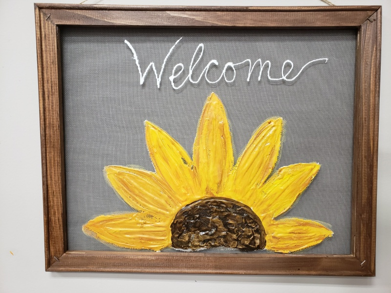 Screen - Sunflower